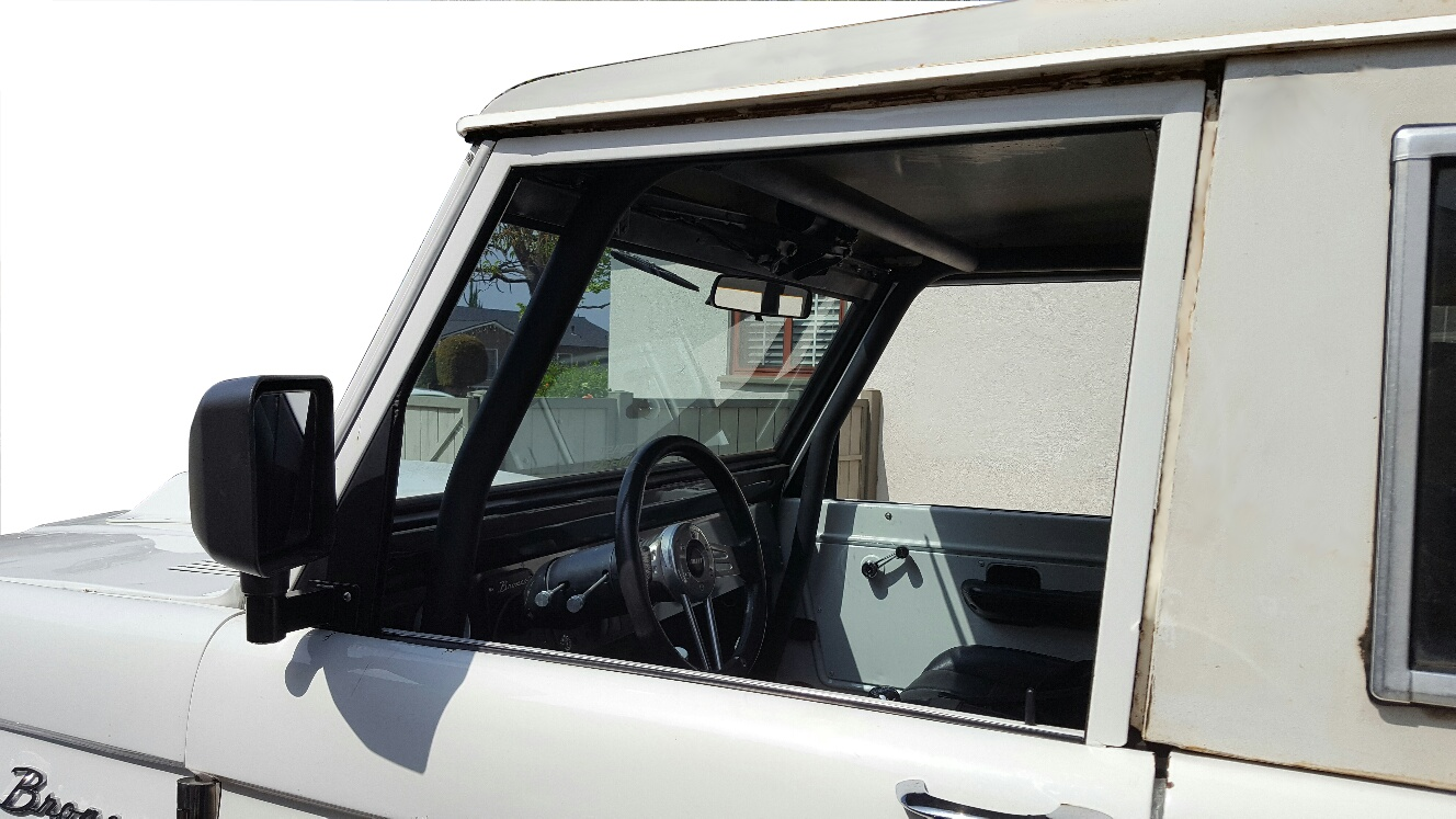 66-77 Ford Bronco Window Conversion Kit